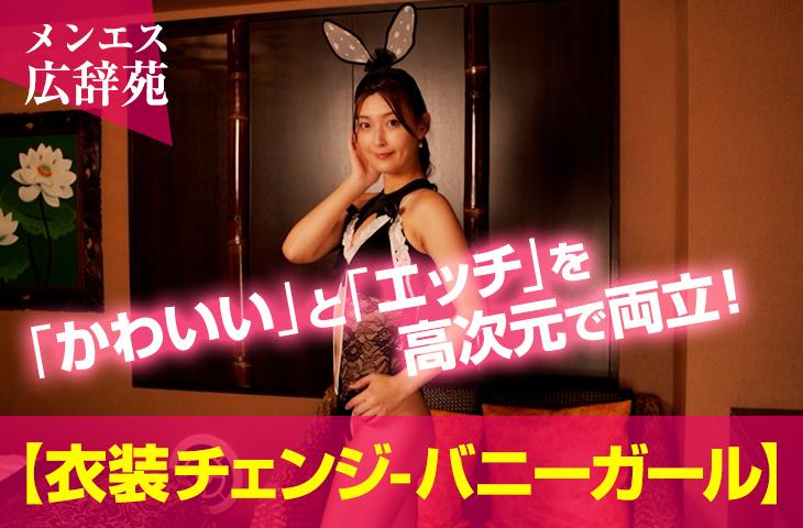 【メンエス広辞苑】衣装チェンジ-バニーガール